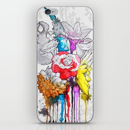 birth of a color iPhone Skin