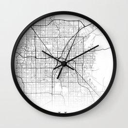 City Map Neck Gaiter Las Vegas Nevada Neck Gator Wall Clock