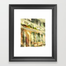 Old Ministry Of Transport Building / Haiti / 06 Framed Art Print