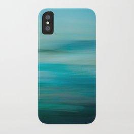 Greenish Blue Sea iPhone Case