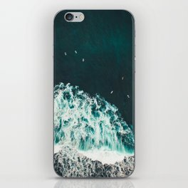 WAVES - OCEAN - SEA - WATER - COAST - PHOTOGRAPHY iPhone Skin