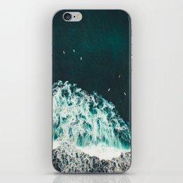 WAVES - OCEAN - SEA - WATER - COAST - PHOTOGRAPHY iPhone Skin