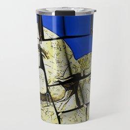 Mount Rushmore memo pad Travel Mug