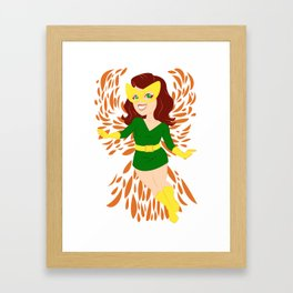 Coming Into Her Own Framed Art Print