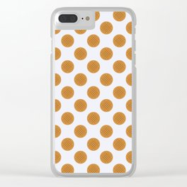 Peanut Butter Cookies Clear iPhone Case