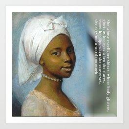 African Beauty Tote Art Print