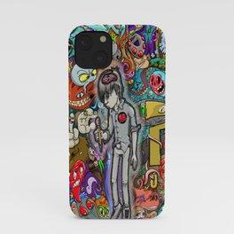 Sleeping creativity iPhone Case