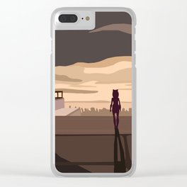 """Im not coming back"" Clear iPhone Case"