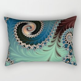 AZURE - Fractal Art Design  Rectangular Pillow
