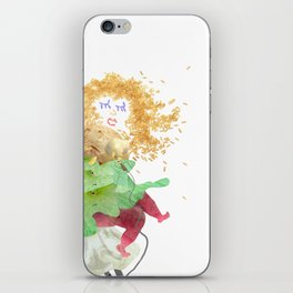 Food Festival Singer iPhone Skin