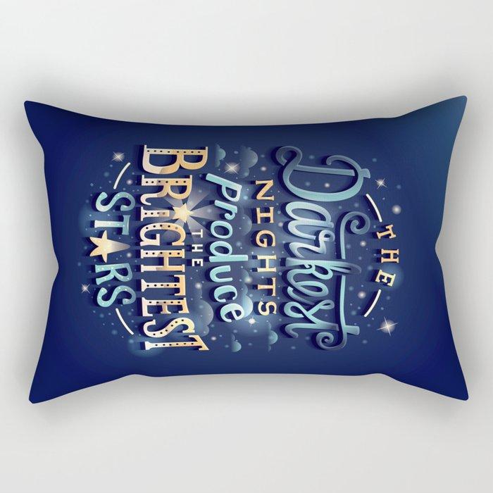 Brightest Stars Rectangular Pillow