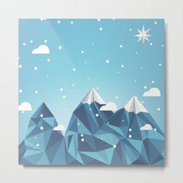 Cool Mountains Metal Print