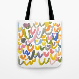 Abstract Letterforms 1 Tote Bag