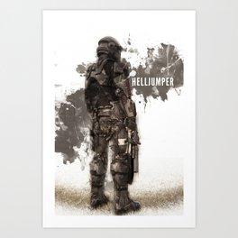 Helljumper Art Print