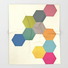 Honeycomb I Throw Blanket
