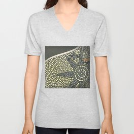 Portuguese Pavement Unisex V-Neck