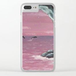 Hidden cove Clear iPhone Case
