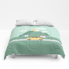 Little Yellow Car Comforters