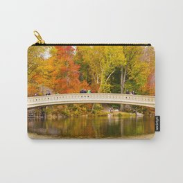 Bow Bridge at Central Park Carry-All Pouch