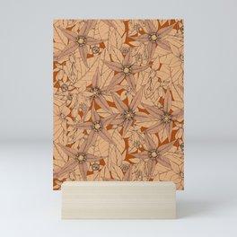 deadly nightshade rust Mini Art Print