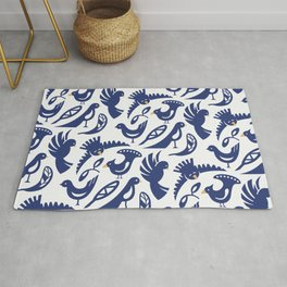 Feather tribe Rug