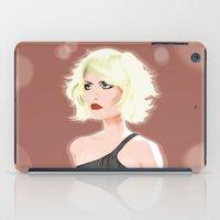 blondie iPad Cases featuring Blondie by drawgood