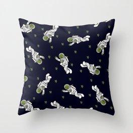 Astro Terrarium Pattern Throw Pillow