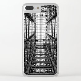 Architecture 13 Clear iPhone Case