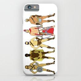 5 Gladiators and Warriors iPhone Case