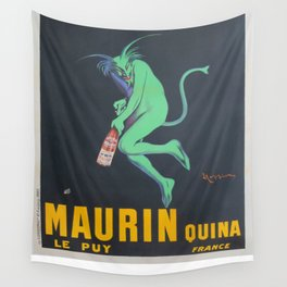 Vintage poster - Maurin Quina Wall Tapestry