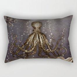 Octopus' lair - Old Photo Rectangular Pillow