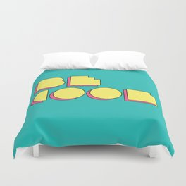 80s Be Cool Duvet Cover