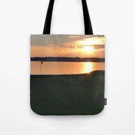 11 at Sunset Tote Bag