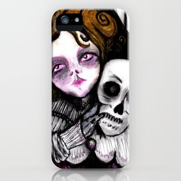 Melancholic iPhone Case