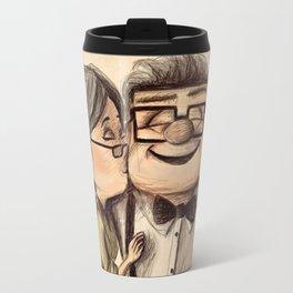 UP Kiss Love - Ellie Carl Travel Mug
