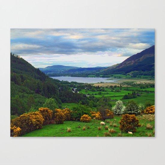 Bassenthwaite Lake Canvas Print