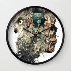 Forest Lake Dreams Wall Clock