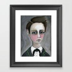 Arthur Rimbaud Soleil et chair, Victorian Writers Portrait Framed Art Print