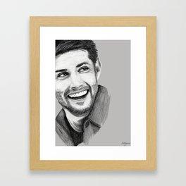 Jensen Smile Framed Art Print