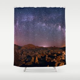 Night Sky - 2 Shower Curtain