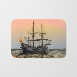 Sail Boston El Galeon Andalucia Bath Mat