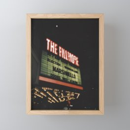 The Fillmore Detroit Framed Mini Art Print