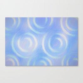 Blue Swirlies Canvas Print
