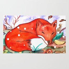 Fox of Autumn Rug