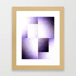Purple Phaze Framed Art Print