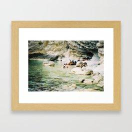 natural love Framed Art Print
