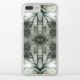 Interlace Clear iPhone Case