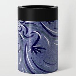 Lavender Flourish Can Cooler