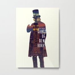 Gangs of New York Metal Print