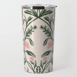 Modern Folk Art Travel Mug